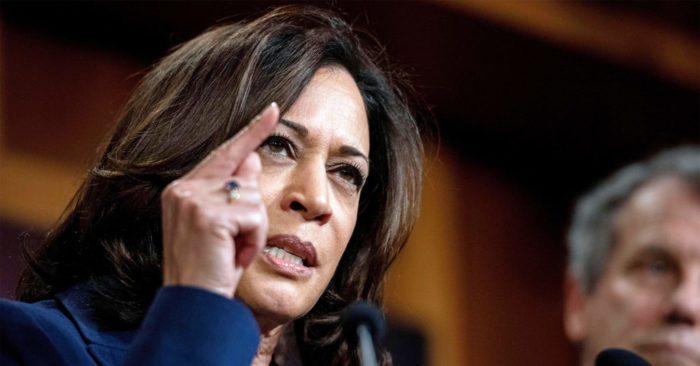 Former Top Cop Kamala Harris Fails To Address Police Shootings In La Says Gop Mccarthy The Bl