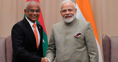 India saves the Maldives from the 'debt trap' of the Chinese Communist Party by lending it money