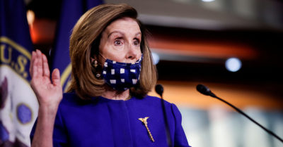 Nancy Pelosi says President Trump could be accessory to murder
