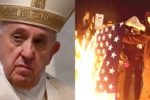 Pope Francis condemns protests against CCP virus restrictions but promotes BLM