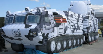 Putin fooled the world: he assembled an inflatable army to scare his enemies