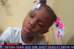 Shooting in McDonald's drive-thru kills 7-year-old girl and injured father who cried out, 'Ma, they just shot my baby'