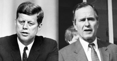 The possible murder of John F. Kennedy, Nikola Tesla and others by former President George H.W. Bush