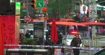 Times Square shooting: 3 innocent people were injured, including a 4-year-old girl