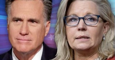 Defending Liz Cheney from power-stripping, Mitt Romney being warned 'you're next'