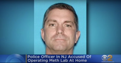 New Jersey: Veteran officer arrested for running synthetic drug lab at home