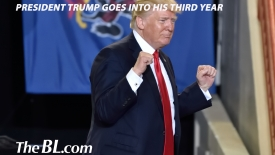 The BL news-President Trump goes into his third year