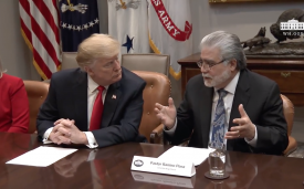 President Trump Hosts a Roundtable with Hispanic Pastors
