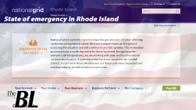 The BL news-State of emergency in Rhode Island