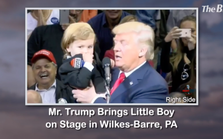 President Trump listens to the youngest Americans