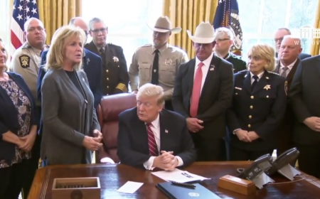 President Trump just invited an Angel Mom to tell her story to the nation from the Oval Office