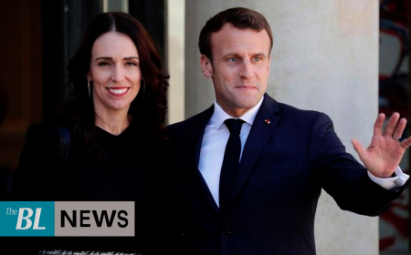 France, New Zealand leaders pledge to curb online violence