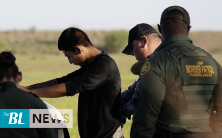 Sex offenders arrested at US-Mexico border