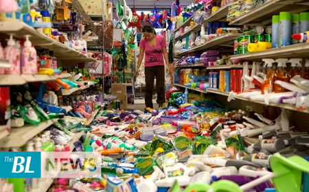 Strong earthquake shakes Central America