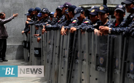 Venezuela police block access to National Assembly