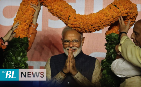 Indian PM Modi heads for landslide election victory