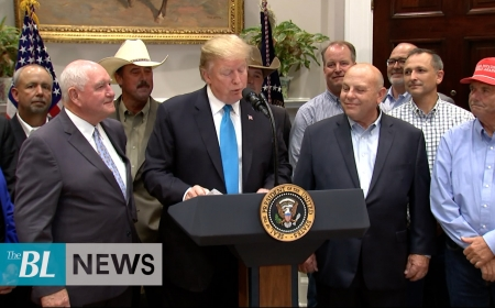 President Trump Supports Farmers, Criticizes Dems and China
