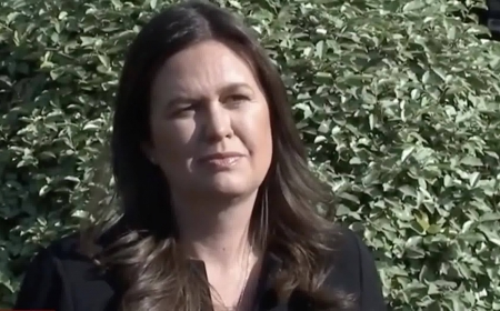 Sarah Sanders Spars with the Liberal Media