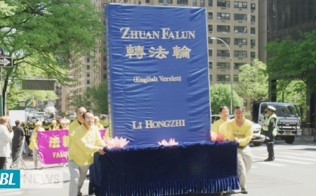 Falun Dafa Parade in NYC celebrates Truth Compassion and tolerance