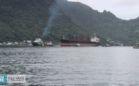Seized North Korean Cargo Ship arrives in America Samoa