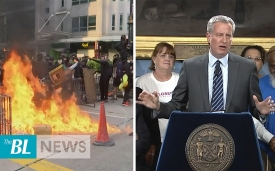 The BL news in 3 - Hong Kong Protesters clash with Police - NYC to close Rikers Island jail complex