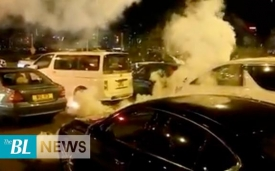 Hong Kong Protests: Police besieged PolyU and fired tear gas at the traffic jam