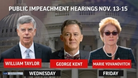 John Solomon Bombshell - The second transcript - Open Impeachment hearings