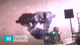 Full record of Hong Kong police brutality in a back alley