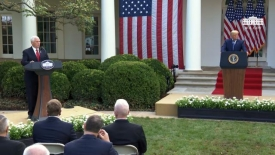 President Trump gives an update on the nation's coronavirus testing strategy