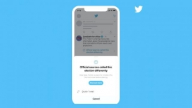 Twitter and Facebook to label early victory posts