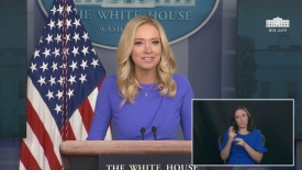 12/15/20: Press secretary Kayleigh McEnany holds a press briefing